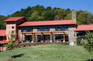 Designs for Kituwah Immersion School in Cherokee by Sims Group Consulting Engineers in Asheville, North Carolina