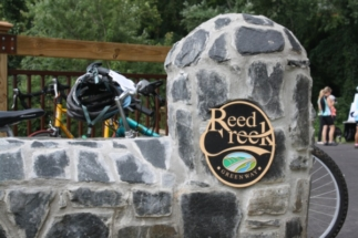 Design for the Reed Creek Greenway by Sims Group Consulting Engineers in Asheville, North Carolina